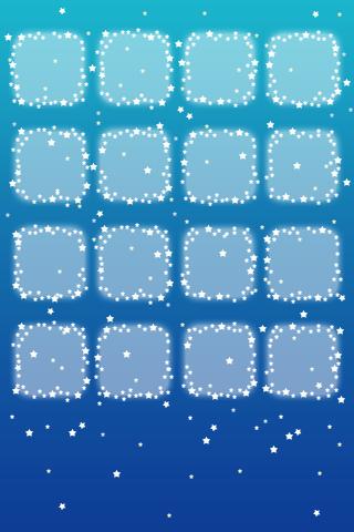 iphone星のかわいい壁紙